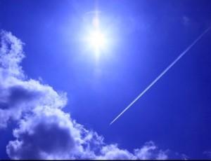 青空を見上げよう。